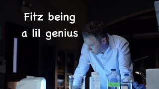 Fitz being a genius and doing science