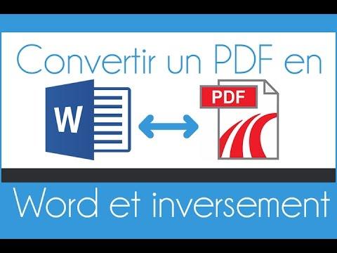 convertir cv en pdf gratuit Convertir gratuitement un fichier PDF en WORD et vice versa   YouTube convertir cv en pdf gratuit