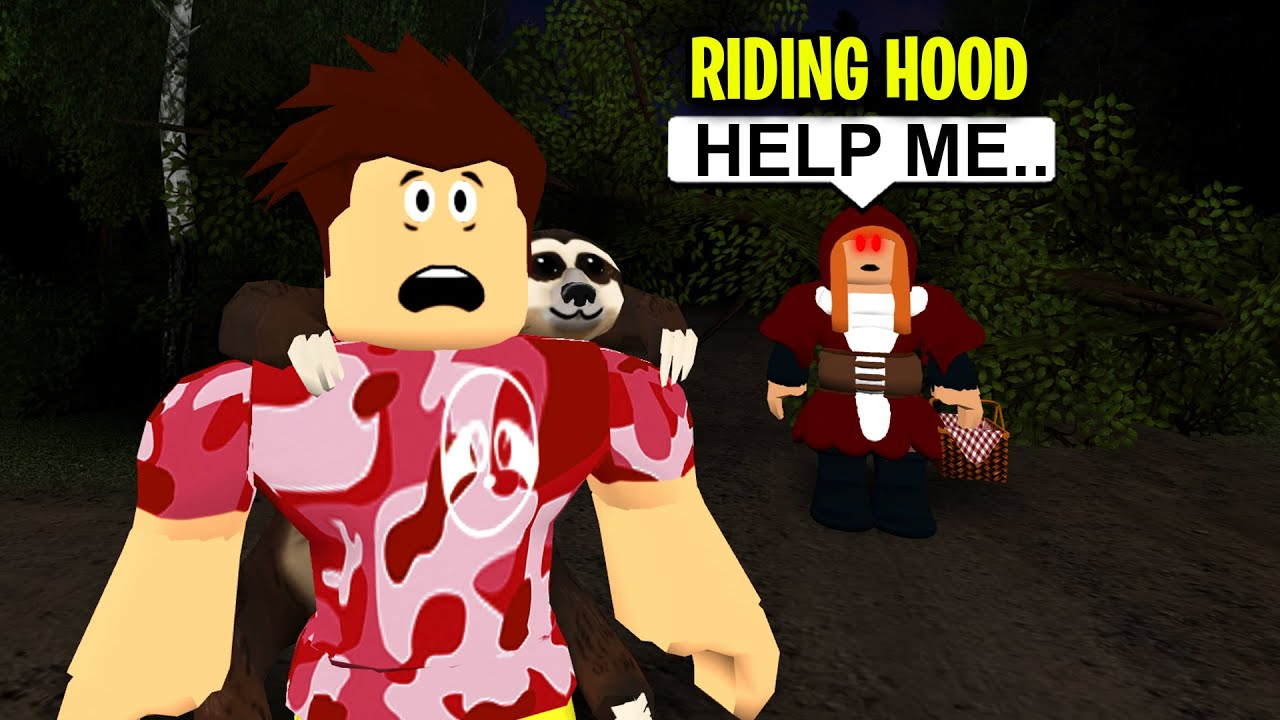 CREEPY GIRL Needed My Help.. The TRUTH Will Shock You! (Roblox) thumbnail
