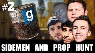 Sidemen and... Prop Hunt Part 2