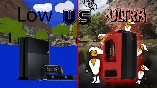 Far Cry 4 on the PC: Low Vs Ultra (Graphics Comparision)