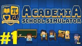 YEPYENİ BİR OKUL YAPIYORUZ / Academia School Simulator Türkçe #1