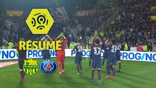 FC Nantes - Paris Saint-Germain (0-1)  - Résumé - (FCN - PARIS) / 2017-18