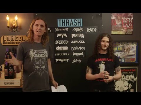 LOCK HORNS   THRASH METAL band debate with Daniel Dekay from Diemonds (live stream archive)