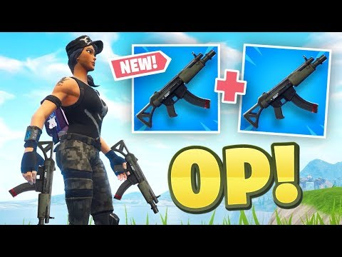 *NEW* DUAL MP5 Strategy - Fortnite Battle Royale
