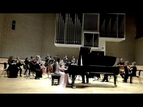 Sunny(Yun) Li piano. Mendelssohn g minor piano concerto. Conductor Mark Heron