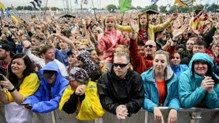Has Brexit put a downer on Glastonbury? Reaction from festival-goers