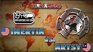 vuclip Inertia VS Artsy | Daily Beatbox Battle ( 2015-07-31 )