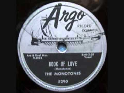 MONOTONES   Book of Love   1958