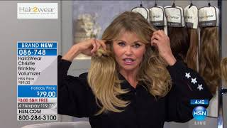 HSN | Christie Brinkley Hair Extensions & Skincare 10.10.2017 - 03 PM