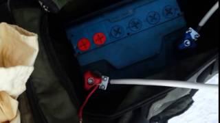 как прикурить машину зимой(Этот ролик о том, как подключить дополнительный аккумулятор, чтобы завести машину в мороз, заводить другие..., 2017-01-12T16:27:17.000Z)