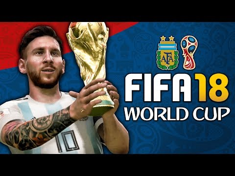 ARGENTINA WORLD CUP FULL PLAY THROUGH!!! FIFA 18 World Cup Mode