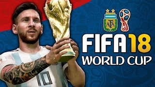 One of JarradHD's most viewed videos: ARGENTINA WORLD CUP FULL PLAY THROUGH!!! FIFA 18 World Cup Mode