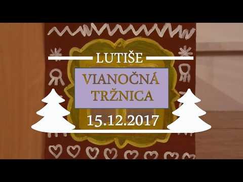 Vianočná tržnica - Lutiše