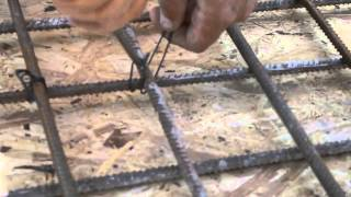 Как вязать стеклопластиковую арматуру крючком?(, 2015-05-25T06:05:33.000Z)