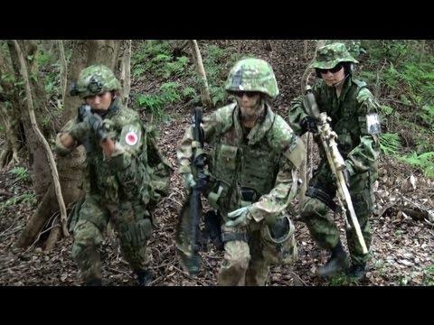陸上自衛隊、武装ゲリラに対し戦闘行動を開始 【ショートムービー】