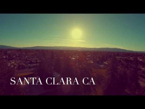 Santa Clara drone view 1080p