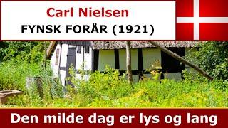 Carl Nielsen - Fynsk Forår - Den milde dag er lys og lang