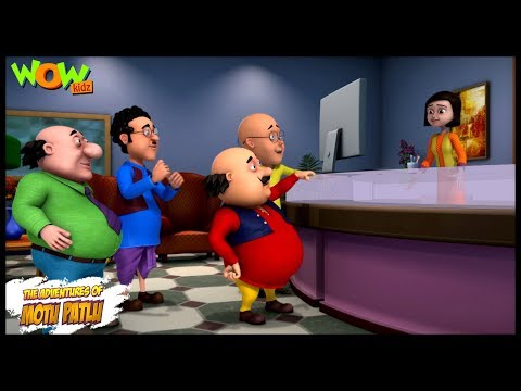 Motu Patlu New Episode | Hindi Cartoons For Kids | Apna Hotel | Wow Kidz