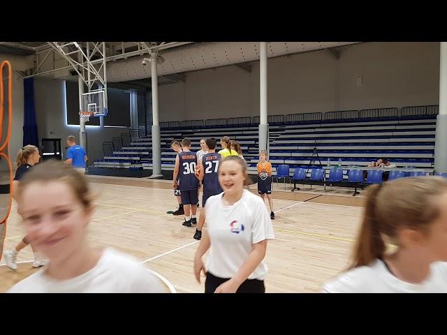 Obóz koszykarski Basketmania Camp - trening poranny 1.07.2019 - grupa 2 part.2