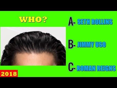 WWE QUIZ - Only True Fans Can Guess All WWE Superstars With Their Hair Style? [HD]