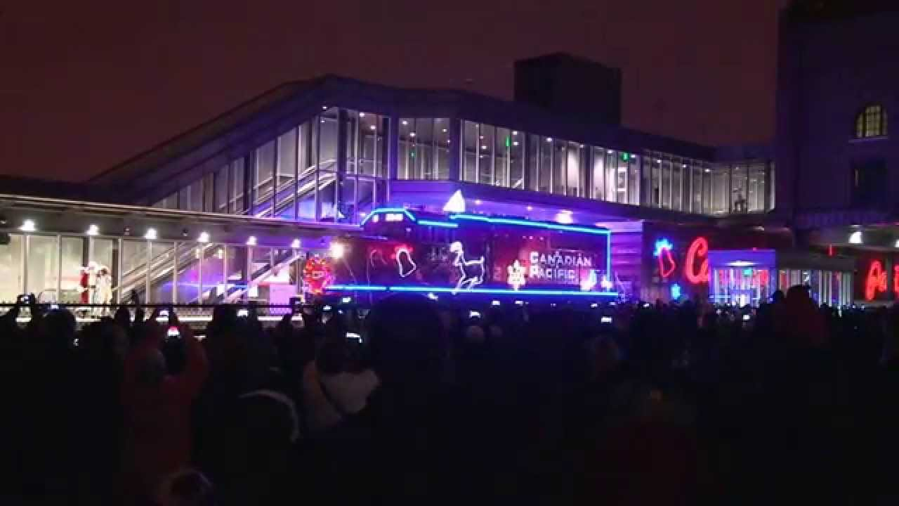Canadian Pacific S Holiday Train At The Union Depot St