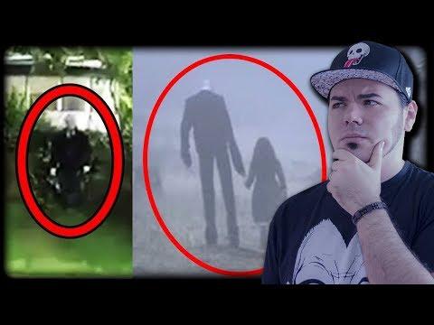 LO SLENDERMAN ESISTE ? 🤔 SLENDER RIPRESI IN VIDEOCAMERE