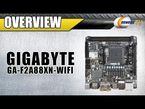 GIGABYTE FM2+ F2A88XN WIFI Mini ITX Motherboard Overview - Newegg TV