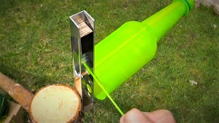 10 Creative Ideas to Reuse Plastic Bottles / Bottle Cutter 2.0