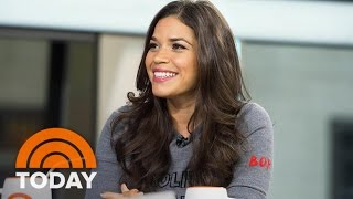 America Ferrera On Finishing Her First Triathlon Right Before Emmys   TODAY