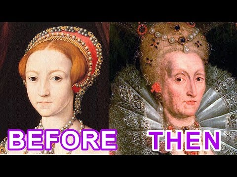 WOMAN and TIME: Queen Elizabeth I Tudor