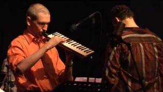 Helmar Hill on melodica with the Robert Bachner Big Band