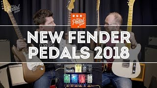 That Pedal Show – New Fender Pedals At The Fender Artist Showroom In London