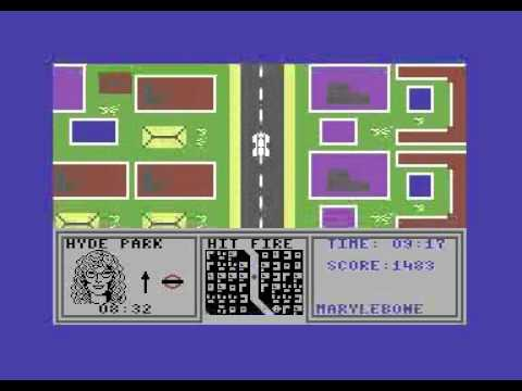Give My Regards to Broad Street - Argus Press Software - Commodore 64 C64 gameplay