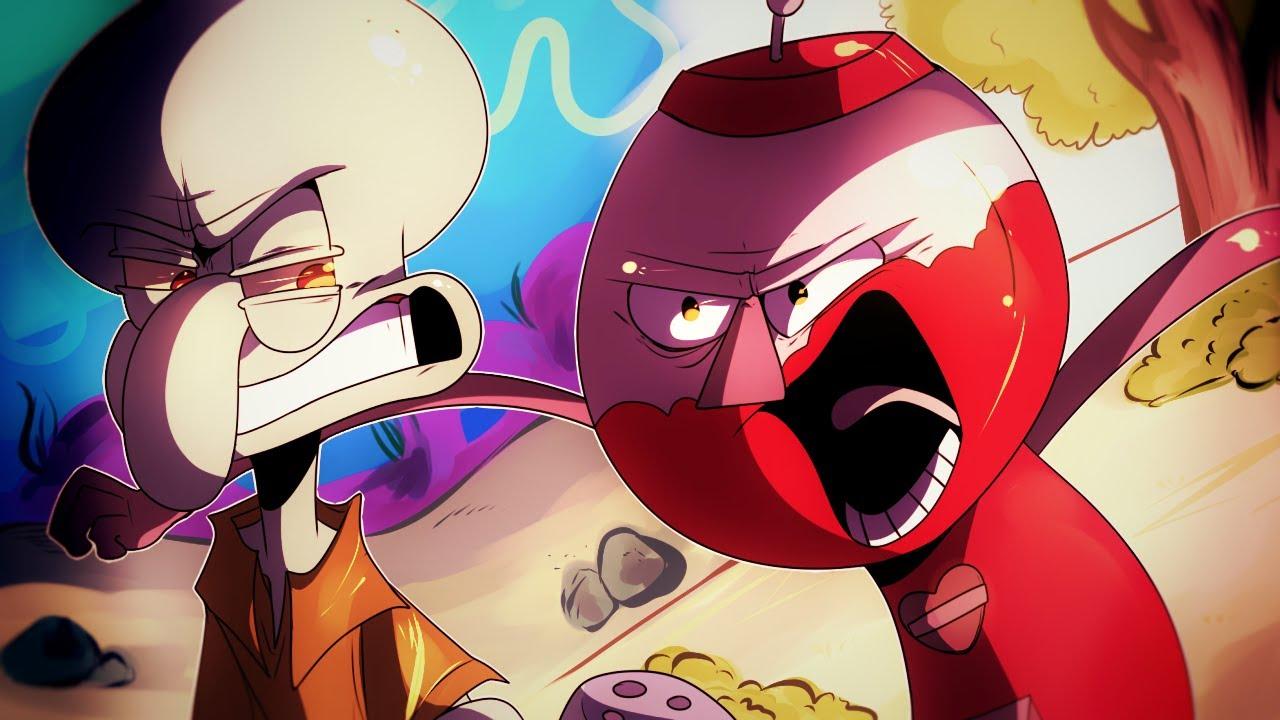 Download Benson vs Squidward - Epic Cartoon Made Rap Battle Season 3