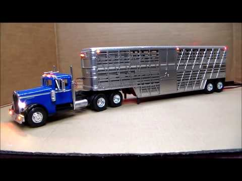 Custom Lighted 51 Kenworth Stock Hauler