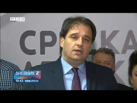 Govedarica kandidat SDS-a za predsjednika Republike Srpske