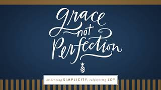 Grace, Not Perfection Bible Study - Trailer