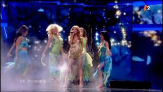 Romania Elena - The Balkan Girls 1st Semifinal Eurovision 2009