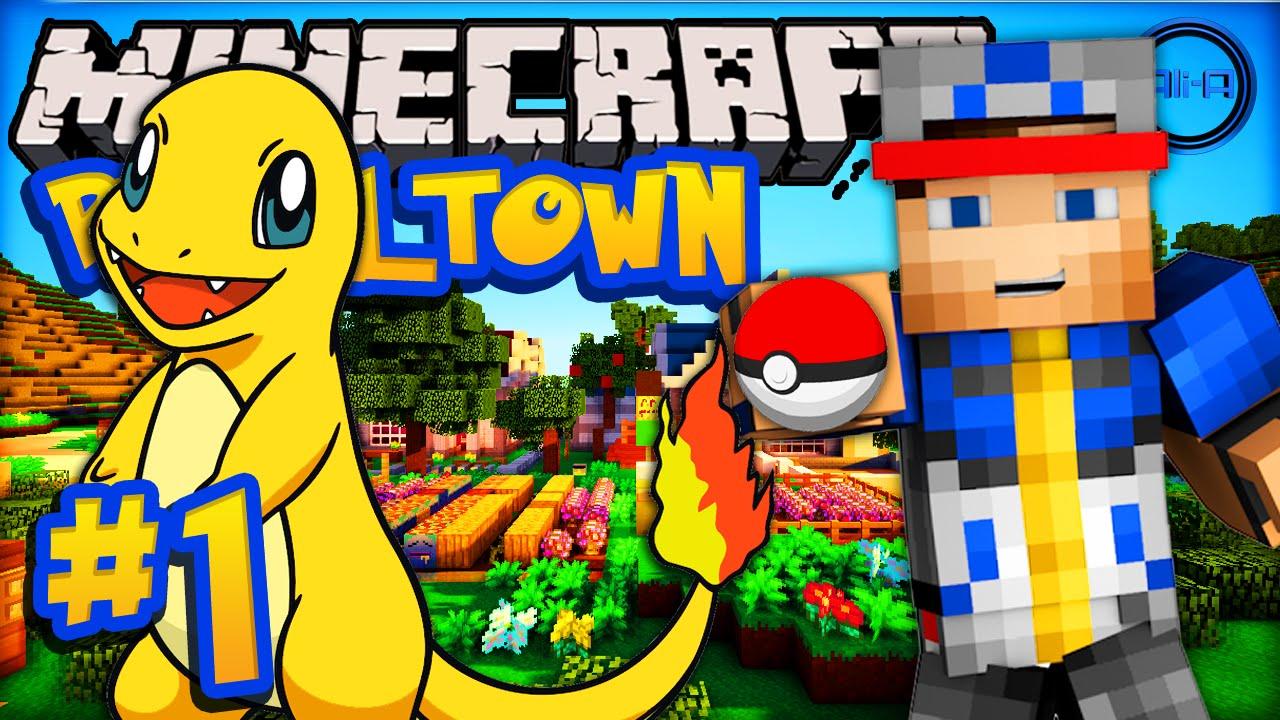 Minecraft pixelmon episode 1 39 shiny pokemon 39 pixe - Pixelmon ep 1 charmander ...