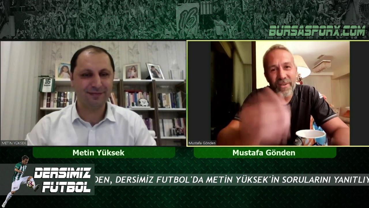 Bursaspor eski kaptanı Mustafa Gönden soruları yanıtladı