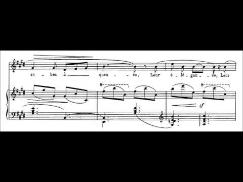 Claude Debussy - Mandoline (audio + sheet music)
