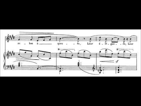 Claude Debussy - Mandoline (audio + sheet music)