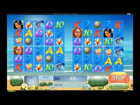 Sunset beach - Casino Game Trailer