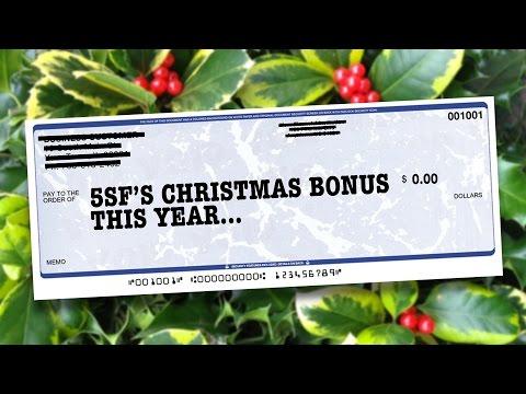 5SF's Christmas Bonus This Year...