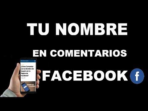 ¿Cómo Comentar con tu Nombre de Usuario en tu Página de Facebook?