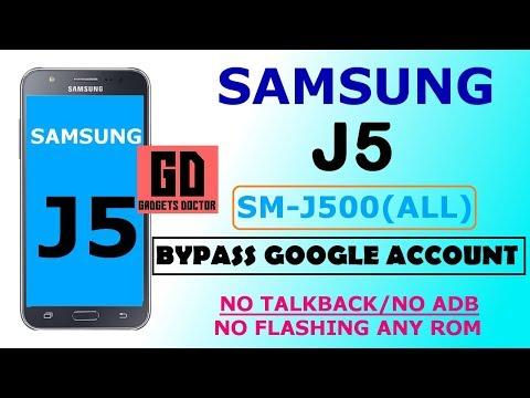 Samsung J5 (SM-J500 All) Bypass FRP -2018