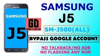 Samsung J5 (SM-J500)|Bypass FRP Google Account | Without Flashing New FRP Tool | No Talkback  -2018