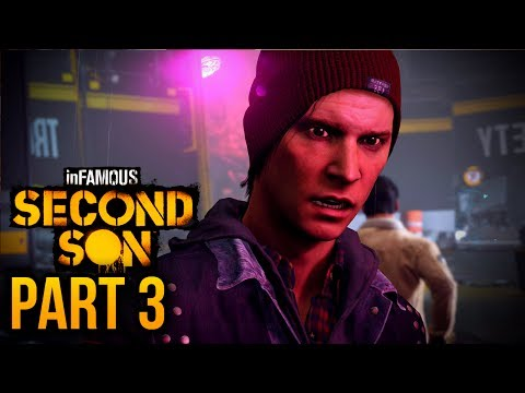 "inFAMOUS: Second Son - Part 3 ""Heading to Seattle"" (inFAMOUS Second Son Hero Playthrough)"