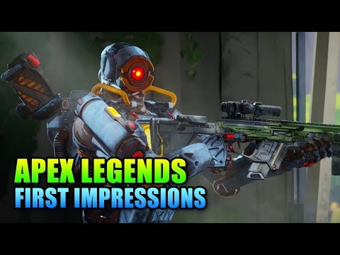 Apex Legends First Impressions - The New King Of Battle Royales?